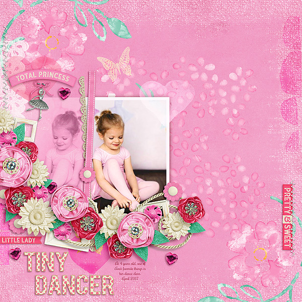 Tiny Dancer-Pink Challenge