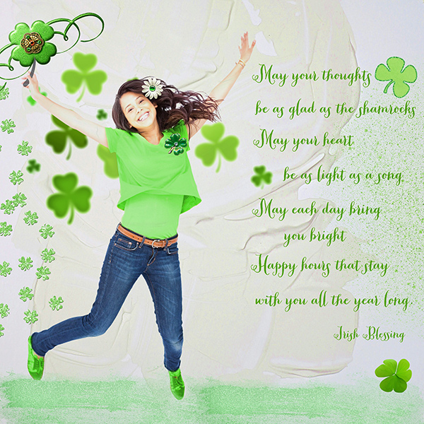 March Quote Challenge Irish Blessings