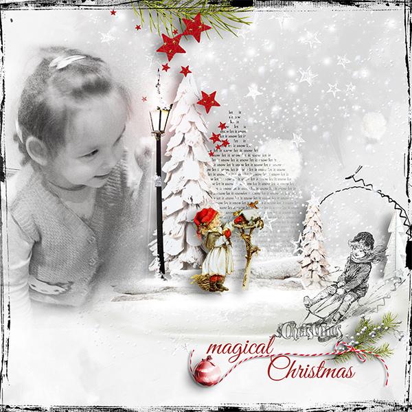 Mood Board_magical Christmas